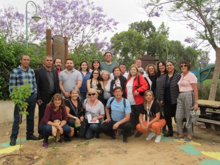 Visit of the South American Delegation at the College