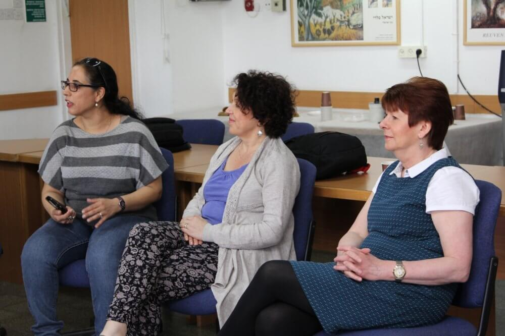 York St. John University's Faculty Members Visit the College